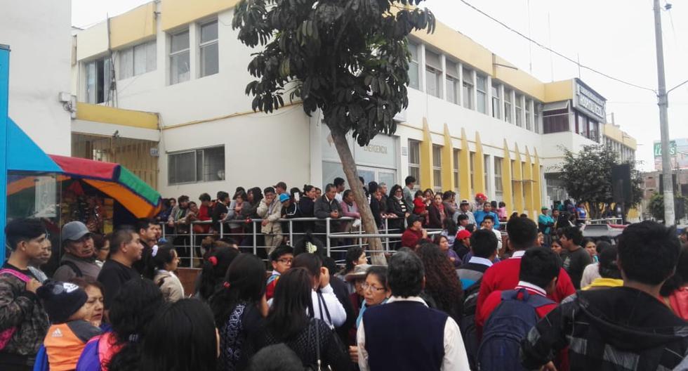 Niños intoxicados en Cañete