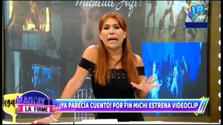 "Magaly Medina sobre video musical de Michelle Soifer: ""Parece Onlyfans"""