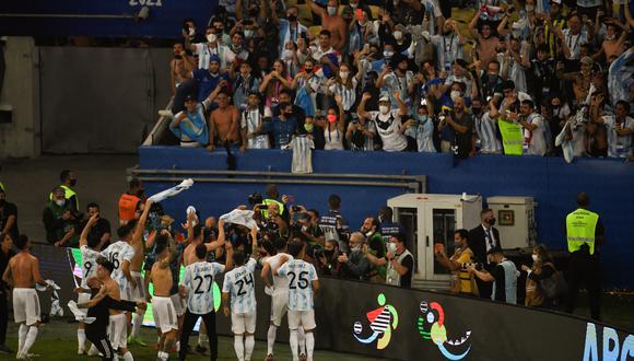 """Reportan la llegada de nueva variante del coronavirus en dos """"individuos del equipo de la Copa América"""". (Foto: MAURO PIMENTEL / AFP)"""
