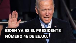 Estados Unidos: Joe Biden da su primer discurso como presidente y hace un llamado a la unidad