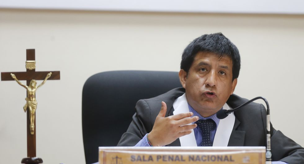 El juez de investigación preparatoria Richard Concepción Carhuancho dijo que la información publicada es parte de una campaña de desprestigio. (Foto: GEC)