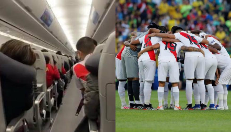 El emotivo homenaje del capitán del vuelo que trajo a la selección peruana de vuelta a Lima