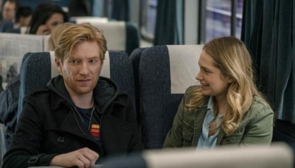 "La serie ""Run"" es protagonizada por Domhnall Gleeson y Merritt Wever. (Foto: HBO)"
