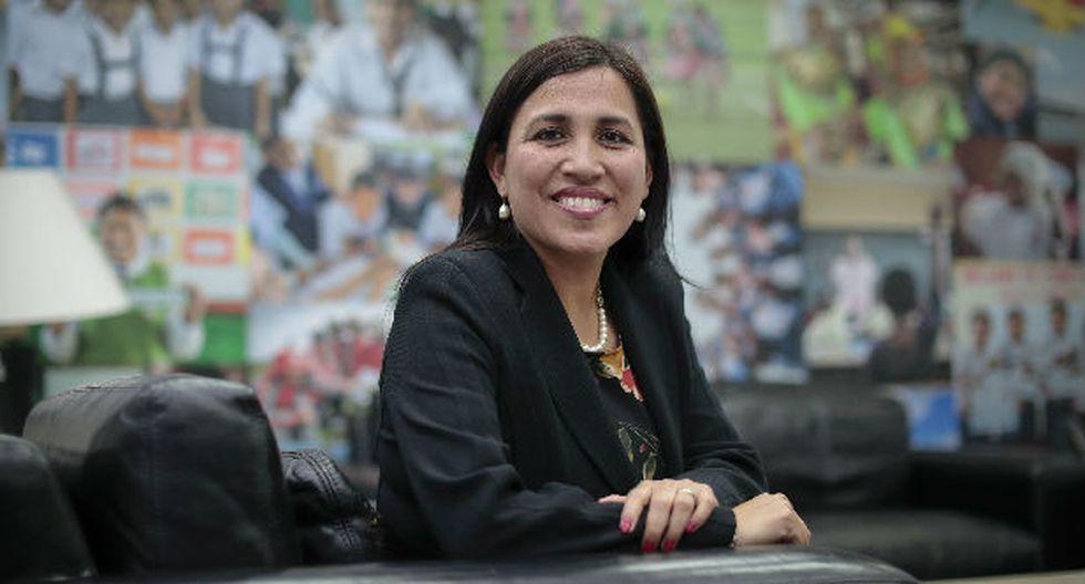 Ministra de Educación Flor Pablo Medina. (Fotos: GEC)