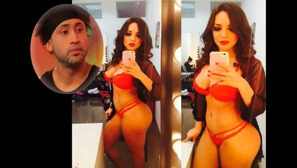 Afirma que Rosángela Espinoza se hizo conocida en televisión gracias a él.