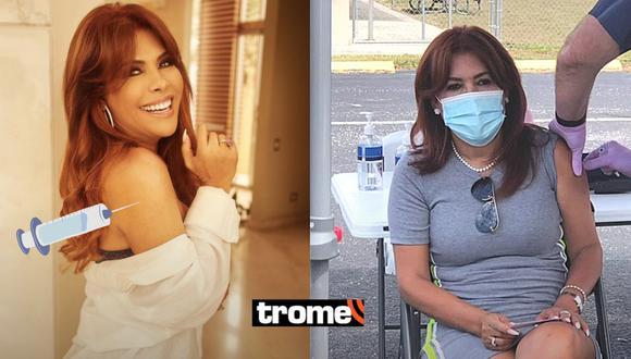 Magaly Medina revela que recibió la vacuna Jonhson & Jonhson contra el coronavirus en Miami