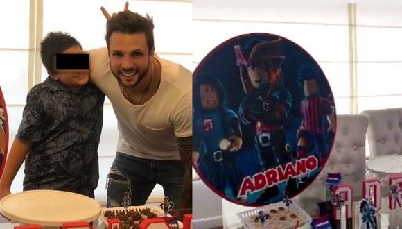 Nicola celebró el cumpleaños del pequeño Adriano. (Nicola Porcella Instagram)