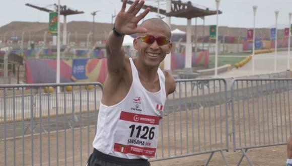 Carlos Sangama se viene preparando para su participación en los Juegos Paralímpicos Tokio 2020.