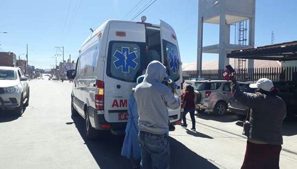 Cusco:  David Chullunquia murió cuando era trasladado a Cusco.