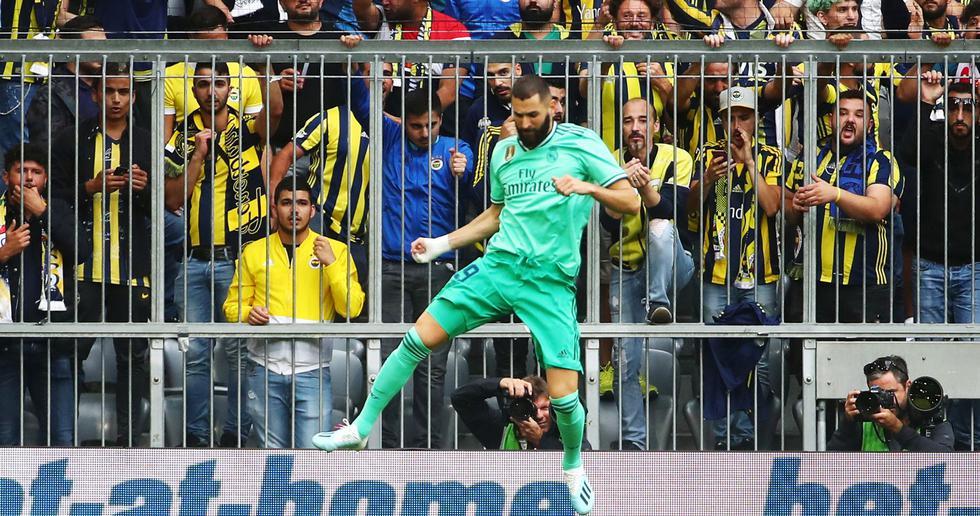 Real Madrid vs. Fenerbahce