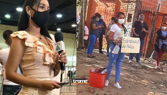Reportera Karla Villarroel se muestra orgullosa de ser ambulante