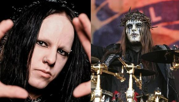 Mítico baterista de Slipknot, Joey Jordison, fue encontrado sin vida. (Redes sociales)
