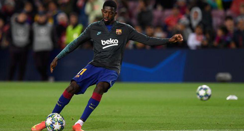 Ousame Dembélé ha participado en 9 partidos del Barcelona en la presente temporada. (Foto: AFP)