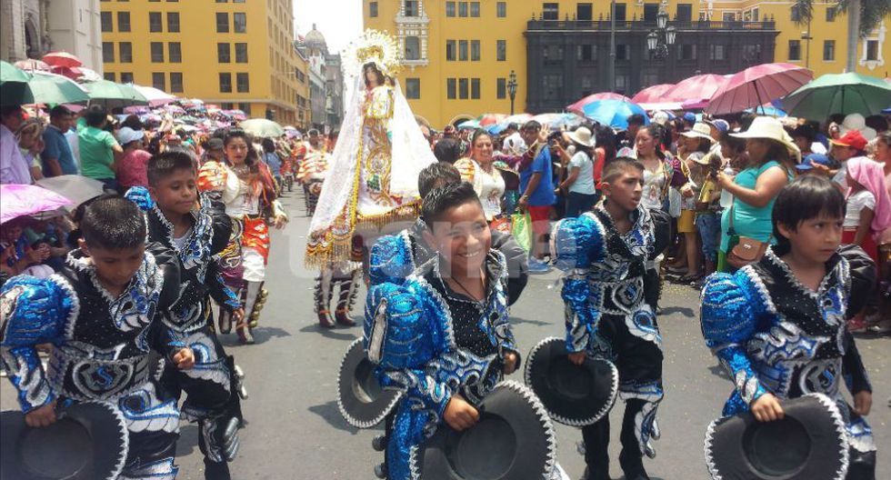 Gran pasacalle por la Virgen de la Candelaria llenó de folclore, alegría y tradición al Cercado de Lima. (Fotos: Isabel Medina / Trome)