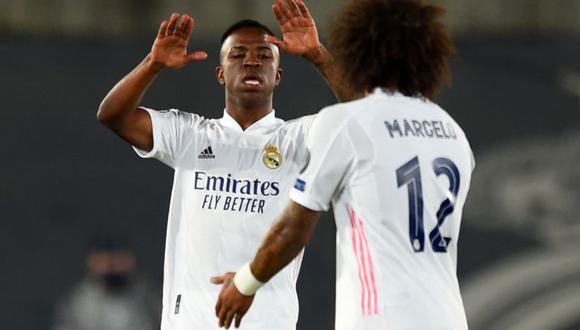 Gol de Vinicius en Real Madrid vs Shakhtar por Champions League