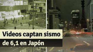 Estos son los videos del sismo de 6,1 que se vivió en Tokio