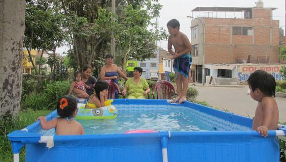 Multarán a los que usen piscinas portátiles en Los Olivos.