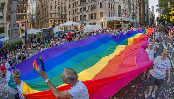 Foto referencial. El conductor del camión, que llevaba banderas del Orgullo Gay, fue sido detenido. (Jonathan ATKIN / Florida Keys News Bureau / AFP)