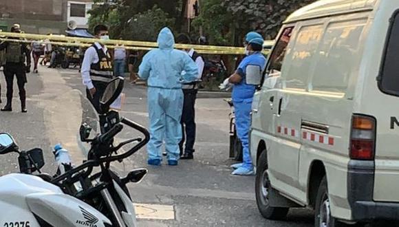 William Gabriel Yanez Lezama (28) fue asesinado de cuatro balazos por su compatriota, que luego huyó a toda velocidad a bordo de un auto.