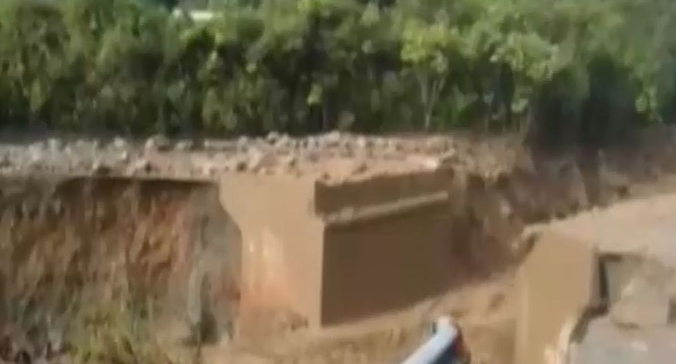Recuperan cuerpo de segundo desaparecido tras huaico en Huayopata. Foto: Captura de pantalla de RPP