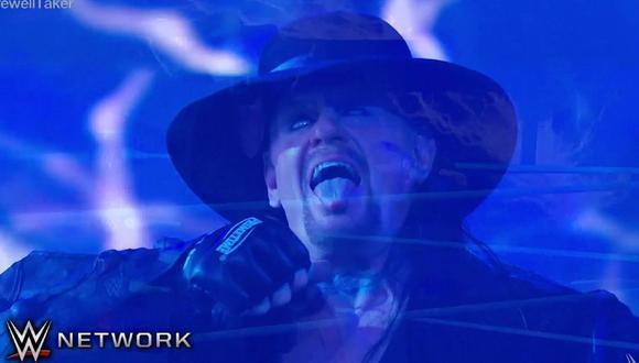 Undertaker tuvo una emotiva despedida en el ring. (Foto: WWE)