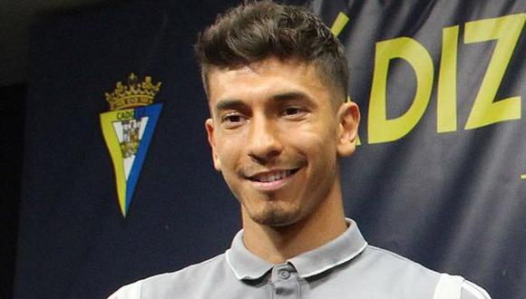 Jean Pierre Rhyner participó en ocho partidos del Cádiz en la Segunda de España. (Foto: Cádiz CF)