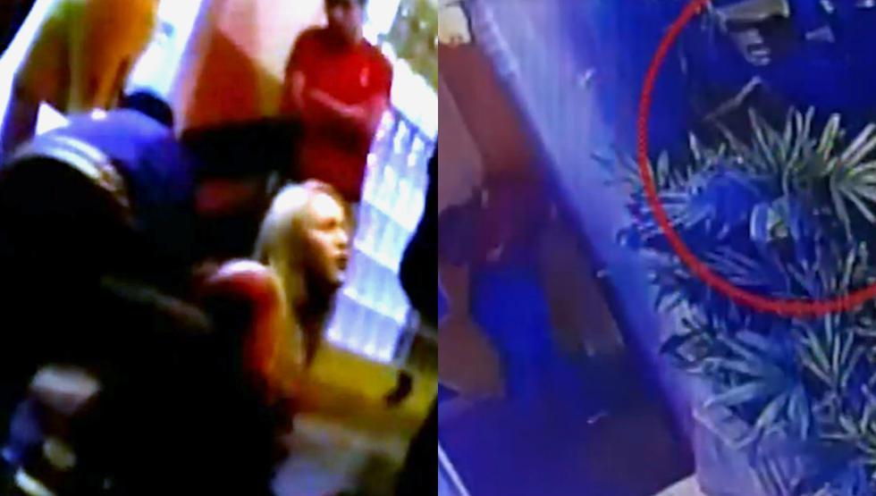 Venezolana es baleada en plena calle por presunto cobro de cupos. Foto: Captura de América Noticias