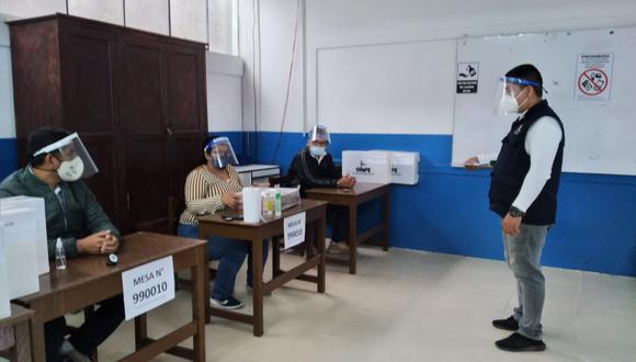 Miembros de mesa, observadores electorales, personeros, personal de ODPE Y ORC, periodistas y la ciudadanía en general, deberán seguir el protocolo (Foto: GEC)