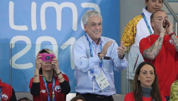 Sebastián Piñera habló sobre los Juegos Panamericanos Lima 2019. (Foto: Agencias)