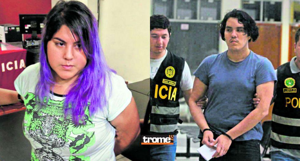 Andrea Aguirre Concha (28) y  Kevin Villanueva Castillo (26) son los principales sospechosos del asesinato de Solsiret Rodríguez | TROME