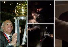 Carlos Bianchi cumplió 71 años y lo celebró con un 'balconazo' bullicioso por la euforia de los hinchas [VIDEO]