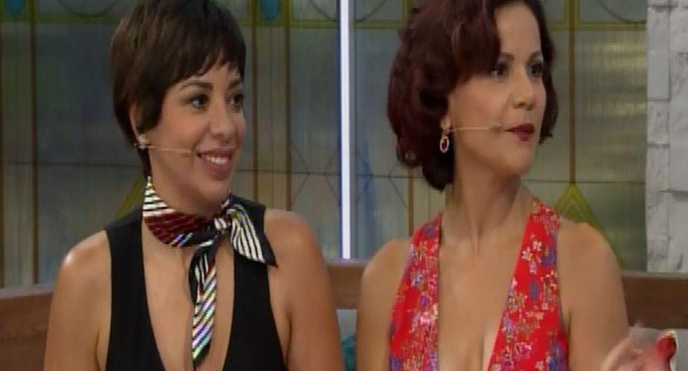 Bruno Pinasco y Tatiana Astengo se dan un 'piquito'