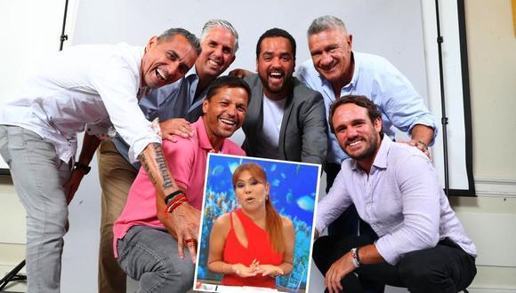 Magaly Medina criticó a panelistas de Al Ángulo. (Captura ATV / GEC)