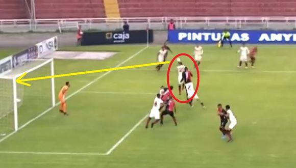Golazo de Melgar: Arce marcó de cabeza tras increíble pasividad de la defensa de Universitario por el Torneo Apertura