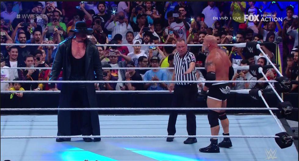 Otra gran velada de WWE en Arabia Saudita. (Captura Fox Action)