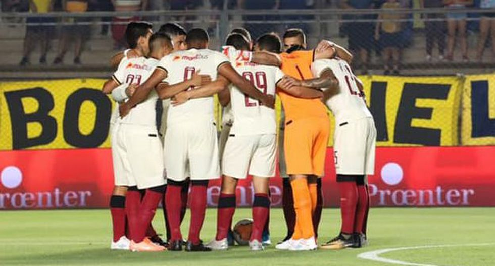 Universitario de Deportes chocará con Cerro Largo este sábado en el Estadio Monumental. (Foto: Universitario de Deportes)