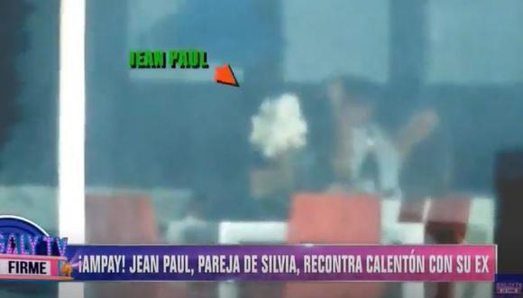 Jean Paul y Analía protagonizan candente ampay