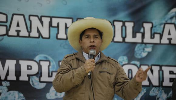 Pedro Castillo se pronunció tras el terrible crimen perpetrado contra la máxima autoridad de aquel país.  (Foto: Joel Alonzo / @photo.gec)