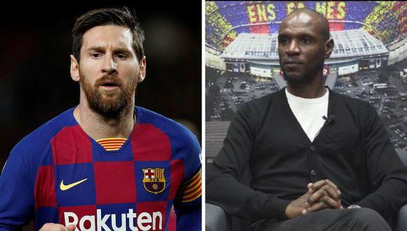 Lionel Messi y Éric Abidal fueron compañeros en Barcelona