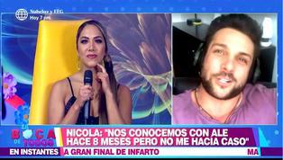 """Nicola quiere presentarle un amigo argentino a Isabel Acevedo y ella preguntó: """"¿Es fiel?"""""""