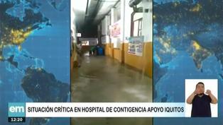 Trabajadores del hospital de Iquitos denuncian que el centro se encuentra malas condiciones