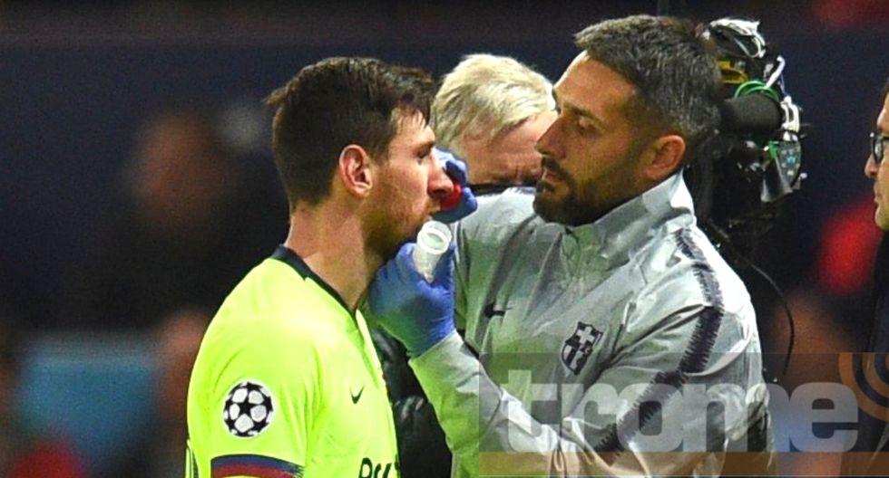 Médicos de Barcelona dieron parte médico sobre lesión en Champions League