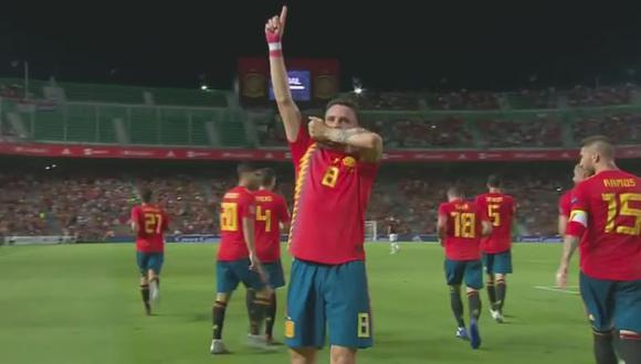 Gol 1 de España
