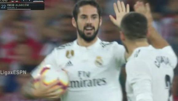 Gol 1 de Real Madrid