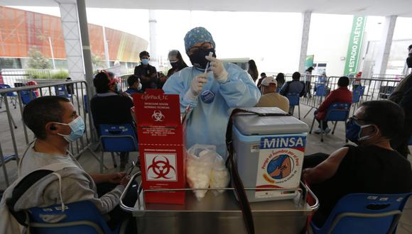 La vacunación contra el COVID-19 se desarrolla a nivel nacional. (Foto: Violeta Ayasta/ @photo.gec)