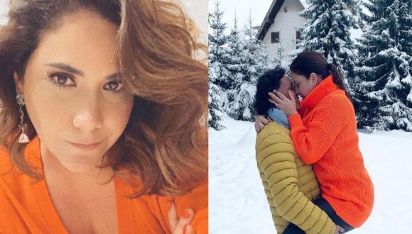 La noticia cayó como balde de agua fría para sus seguidores, debido a que tan solo hace un año, la periodista contó que su esposo le pidió renovar sus votos matrimoniales. (Foto: Instagram: @andreallosabarreto)