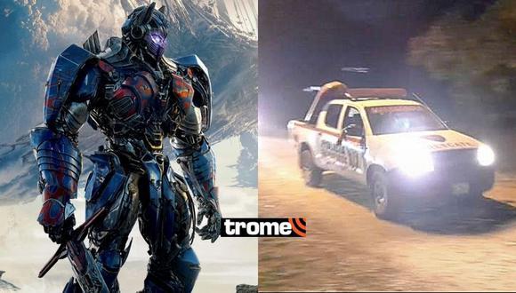 Transformers en Perú: Intentan robar a equipo de producción tras grabación en Tarapoto (Foto: Diario Voces de Tarapoto)