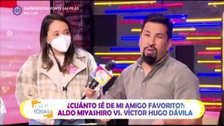 """""""Deja que 'Yaco' juegue los sábados"""": Aldo Miyashiro le envía un mensaje a Natalie Vértiz"""
