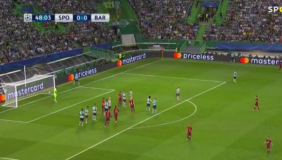 Gol de Barcelona
