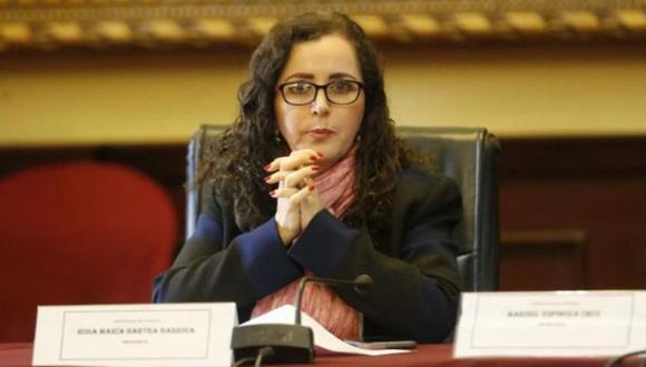 Rosa Bartra defendió su postura sobre la 'ideología de género'. (GEC)